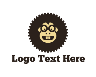 Eyeglasses - Gear Monkey  logo design