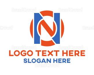 No - Round On logo design