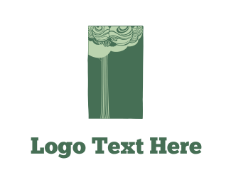Ecosystem - Tree & Rectangle  logo design