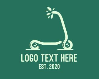 Scooter - Eco Scooter logo design