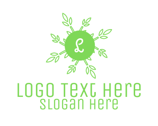 Detailed - Rice Grain Lettermark logo design