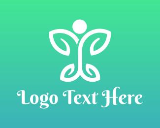 Butterfly - Butterfly Leaf logo design