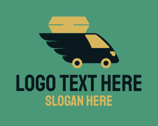 Delivery - Airmail Delivery logo design