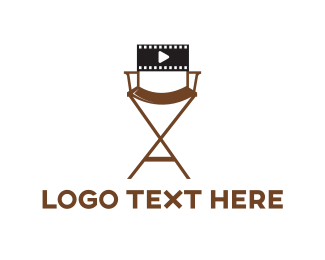 Seat - Film Director logo design