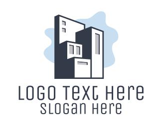 Builder - Modern Housing Builder  logo design