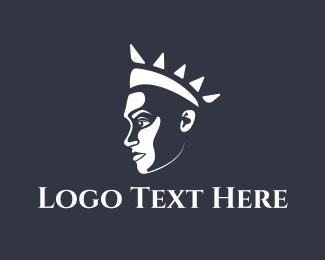 Queen - Queen Princess Profile logo design