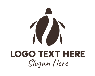 Coffee Bean - Turtle Coffee logo design