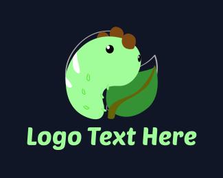 Caterpillar - Little Worm logo design