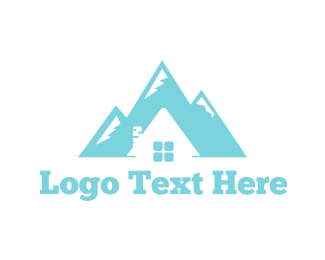 Igloo - Mountain House logo design