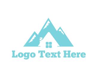 Swiss - Mountain House logo design