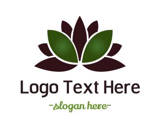 Indonesia - Green Lotus logo design