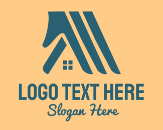 Construction - Hands & Houses logo design