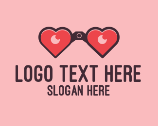 Vision - Love Vision logo design