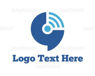 Vpn - Wifi Signal logo design
