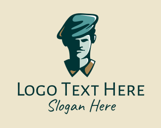 Old Style - Classical Art Painter logo design