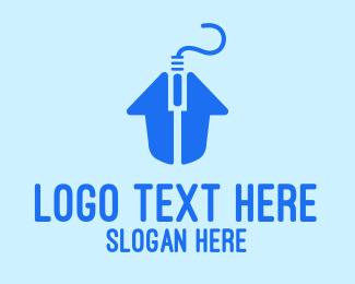 Neighbourhood - Home Click logo design