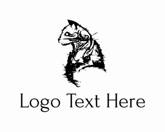 Sketch - Black Cat logo design