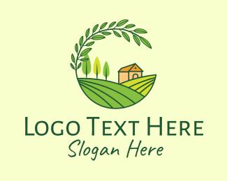 Hydroponic - Countryside Farm Agriculture logo design