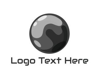 Chrome - Mercury Ball logo design