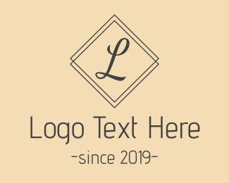 Classic - Classic L Script logo design