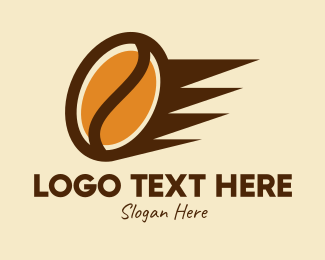 Coffee Delivery - Fast Coffee Bean  logo design