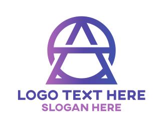 Monogram - Geometric AO Fashion Monogram logo design