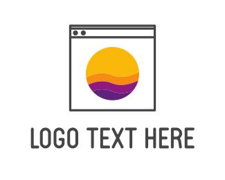Laundry Service - Washing Machine logo design