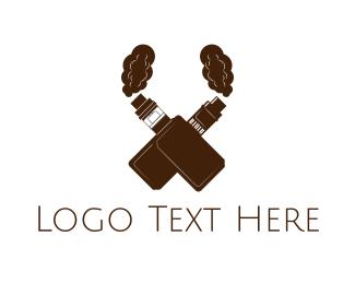Trend - Vape X Smoke Cross logo design