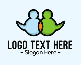 Welfare - Social Network logo design