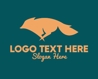 Coyote - Running Fox logo design