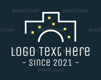 Photo - Camera Building logo design
