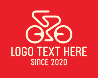 Bicycle Tournament - Racing Bicycle Bike Cycling logo design