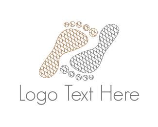 Footprint - Foot Steps logo design