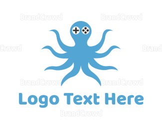 Octopus - Octopus Gamer logo design