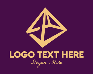 Outdoor Activity - Modern Tent Style logo design
