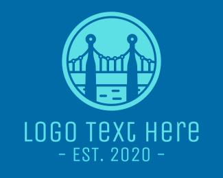 Technician - Blue Bridge Technology logo design