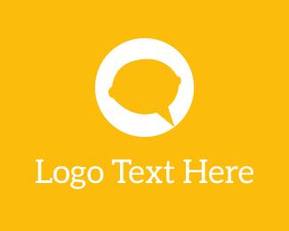 Speak - Lemon Talk logo design
