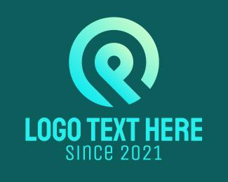 Web - Web Developer Letter P logo design