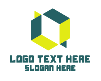 Illusion - Cube Illusion logo design