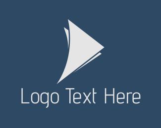 White - White Wings logo design