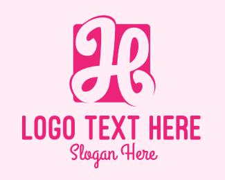Logo Design - feminine H