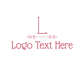 """""""Pink Classic Lettermark"""" by brandcrowd"""