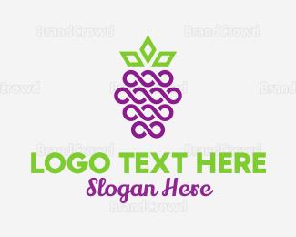 Blackberry - Royal Blackberry Fruit logo design