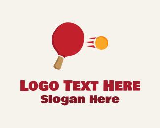 Sporting Goods - Ping Pong Hit logo design