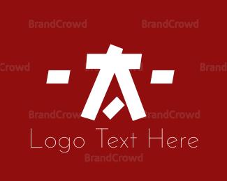 China - Asian Letter A logo design