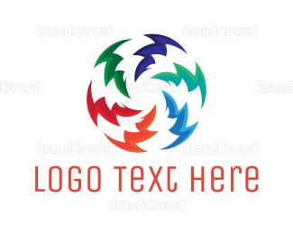 Spark - Electric Circle logo design