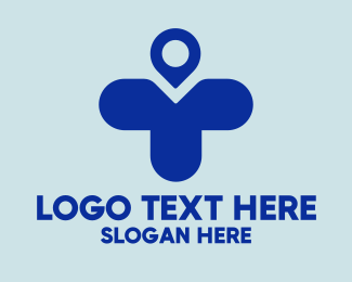Hospital - Hospital Cross Location logo design
