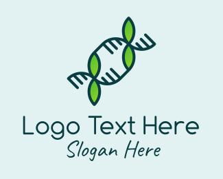 Tree - Nature Plant DNA logo design
