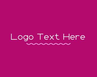 Pinkish - Minimalist Feminine  Wordmark logo design
