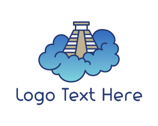 Trip - Pyramid Cloud logo design